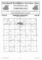 Garfield Township, Orchard, Directory Map, Antelope County 2006
